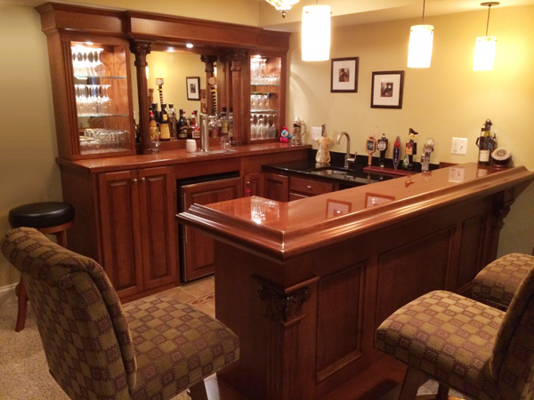 Home Bars Design Ideas: Custom Home Bars