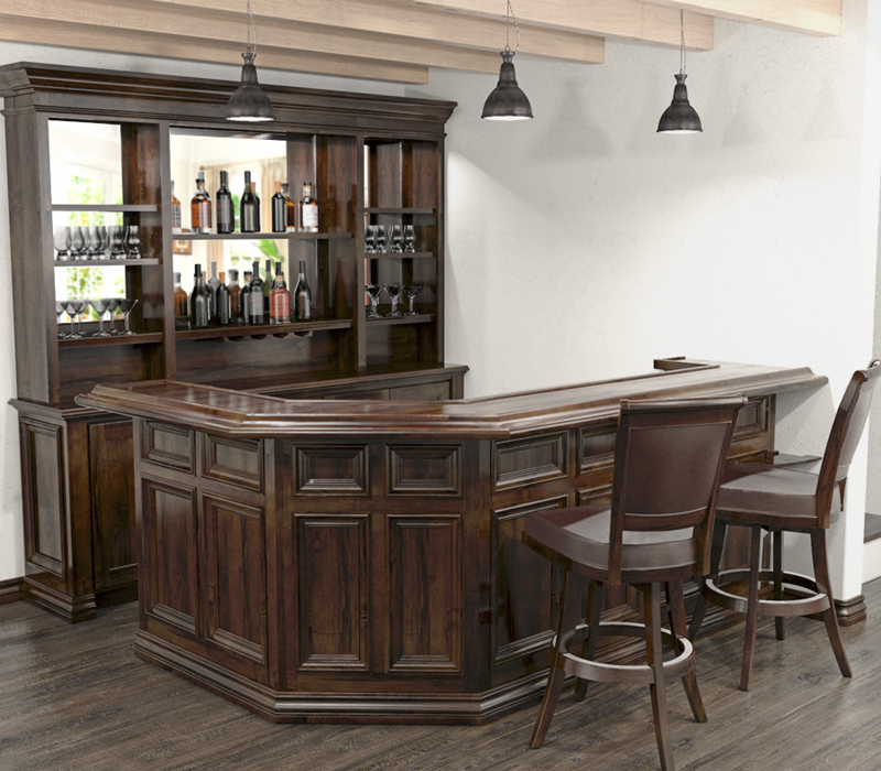 Home Bar Furniture: Custom Home Bars