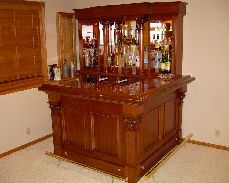 Custom home bars Home pub bar furniture