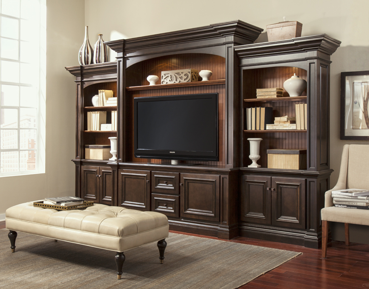 Custom entertainment centers Home entertainment center
