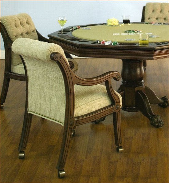 Game Tables And Chairs With Casters Homes Decoration Tips