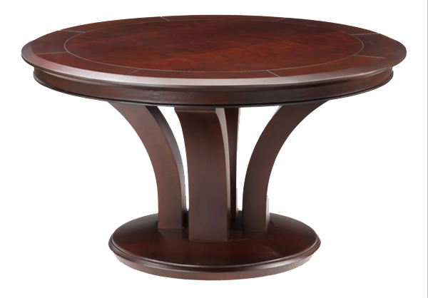 Trivisio Round Poker Dining Game Table