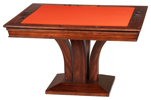 Darafeev Trivisio Square Poker Dining Game Table