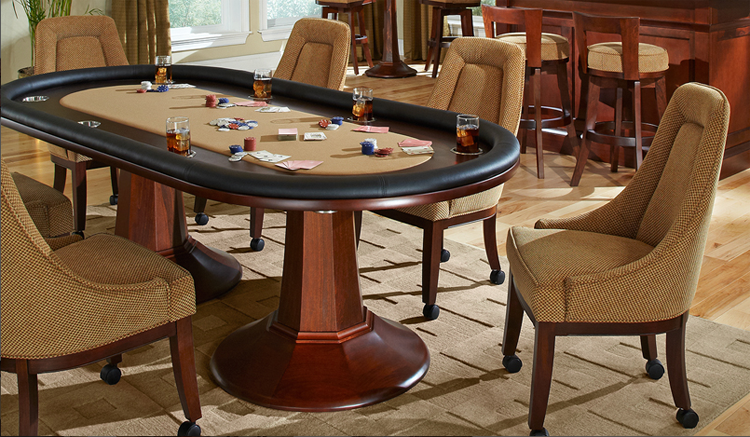 Aptos Professional Texas Holdem Poker Table