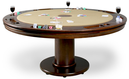 Custom Poker Table To California House