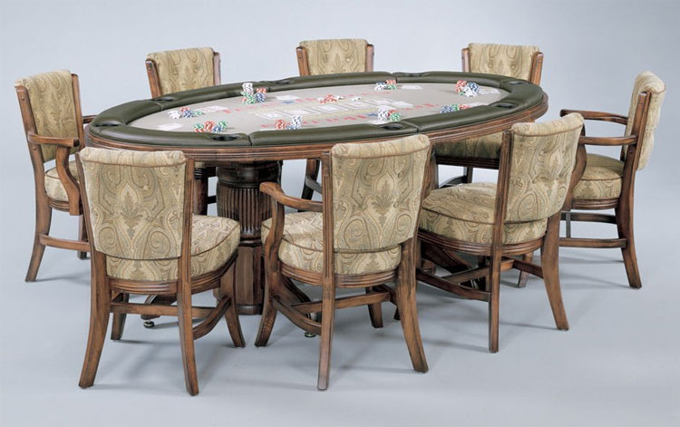 Embassador Poker Dining Game Table