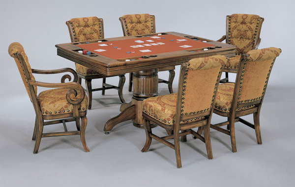 Heritage Poker Dining Game Table