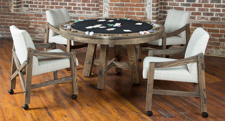 Loft Poker Table