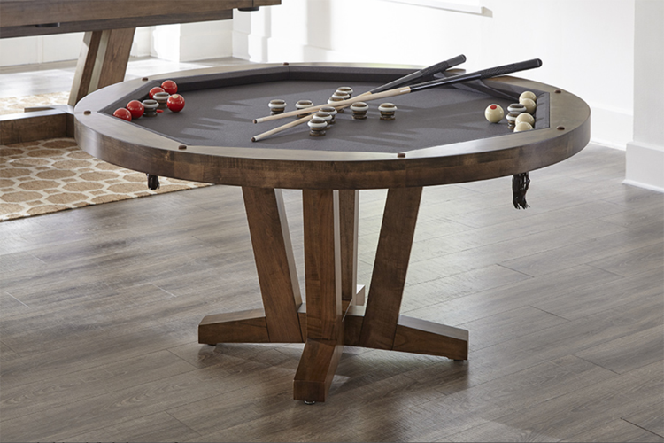 Petalulma Poker Bumper Pool table