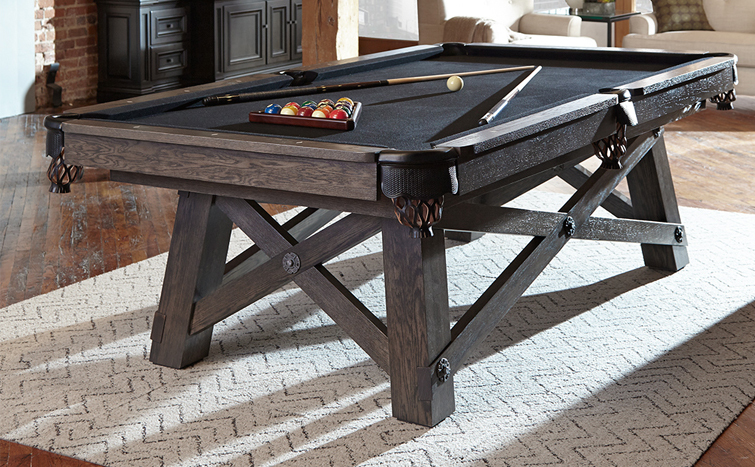 Loft Pool Table